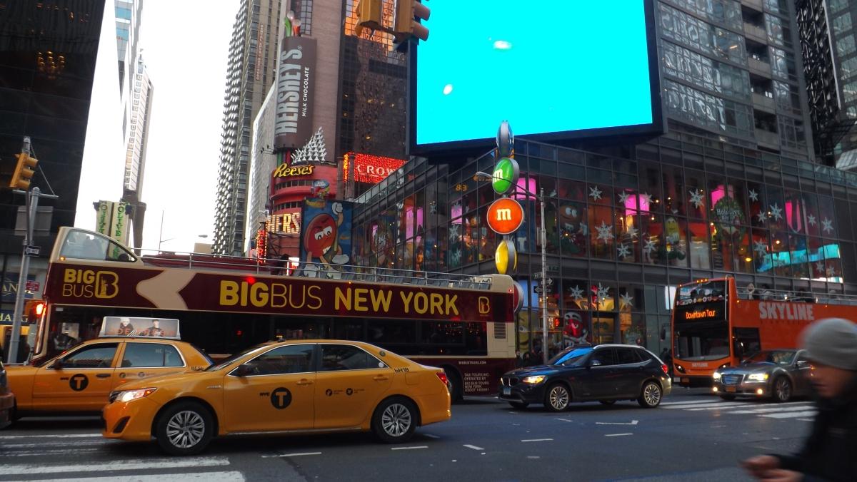 Times Square Por Flavia Francellino